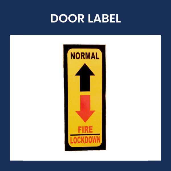 Door Label